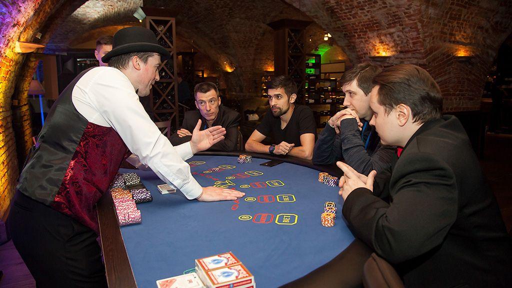 выездное казино на мероприятие спб